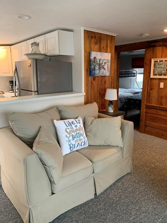 Bourne Cape Cod vacation rental - Love seat in family room