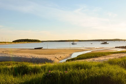 Bourne Cape Cod vacation rental - View from front of house at low tide