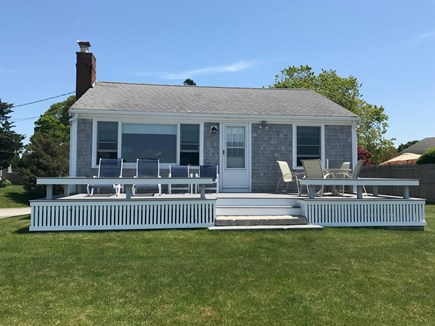 Bourne Cape Cod vacation rental - Front of the house coming back from the beach