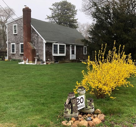 Hyannis Cape Cod vacation rental - Front view of our home