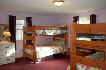 Hyannis Cape Cod vacation rental - 2nd floor BR w/2 sets of bunk beds & 2 captains beds (w/AC unit)