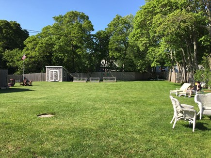 Hyannis Cape Cod vacation rental - Massive fenced in back yard
