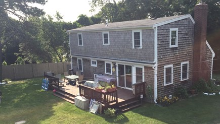 Hyannis Cape Cod vacation rental - Spacious deck and private back yard