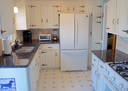 Hyannis Cape Cod vacation rental - Updated kitchen with granite countertops and newer appliances