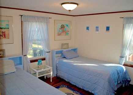 Hyannis Cape Cod vacation rental - First floor bedroom with 2 twin beds