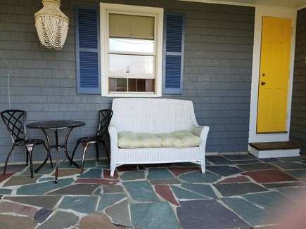 Bourne Cape Cod vacation rental - Front patio connected to Master bedroom with Bay View