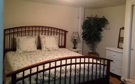 Bourne Cape Cod vacation rental - Basement king bed 3/4 bath across hall