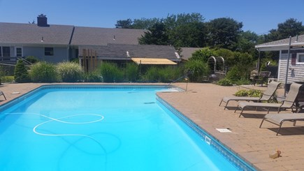 Bourne Cape Cod vacation rental - Pool, sun on it all day!