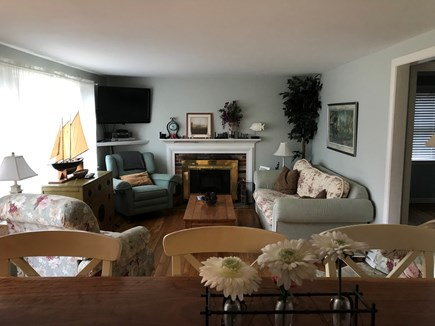 West Yarmouth Cape Cod vacation rental - Cozy Living room