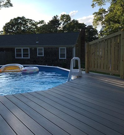 West Yarmouth Cape Cod vacation rental - Time for a swim and relax by the pool!