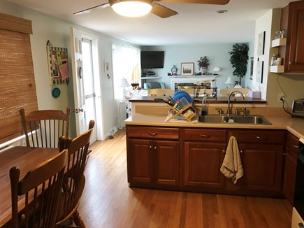 West Yarmouth Cape Cod vacation rental - Fully equipped Kitchen w/ eating area and breakfast bar.