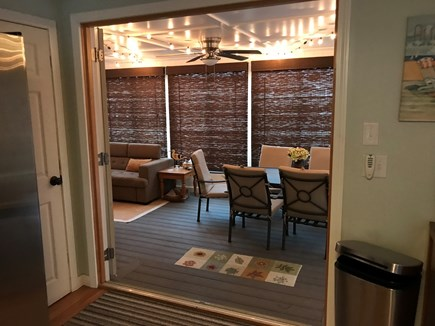 West Yarmouth Cape Cod vacation rental - Door opening to porch