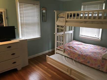 West Yarmouth Cape Cod vacation rental - Bunk bed w/trundle