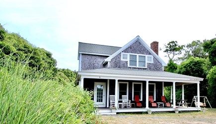 Truro Cape Cod vacation rental - Nice farmer's porch with rockers