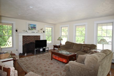Truro Cape Cod vacation rental - Sunny Living Room