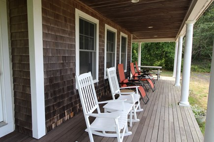 Truro Cape Cod vacation rental - Sit in one of this comfy chairs on the Porch