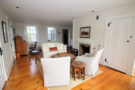 Truro Cape Cod vacation rental - Beautiful and bright living room, hardwood flooring throughout