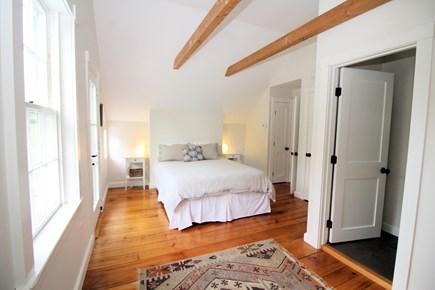 Truro Cape Cod vacation rental - Bright master with queen, private balcony, en-suite bathroom