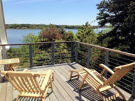 Truro Cape Cod vacation rental - Stunning Pamet views from the private master balcony