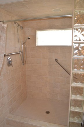 Brewster Cape Cod vacation rental - Large walk-in shower