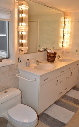 Brewster Cape Cod vacation rental - Renovated master bath