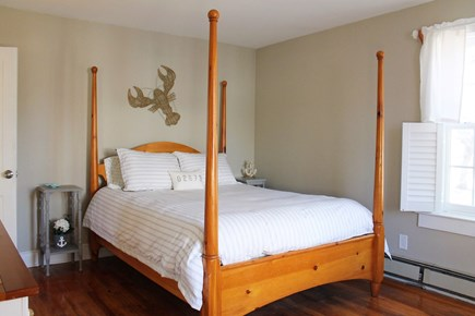 West Yarmouth Cape Cod vacation rental - Queen Bedroom (1st floor) with closet