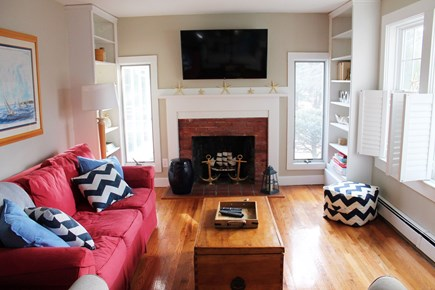West Yarmouth Cape Cod vacation rental - Living Room: TV includes full cable and Netflix is available