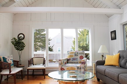 West Yarmouth Cape Cod vacation rental - Warm and inviting sun room, leads to back deck and kitchen