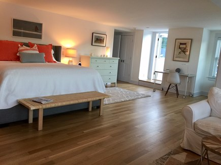 Orleans Cape Cod vacation rental - Master Bedroom with attached rooftop deck