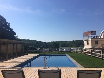 Orleans Cape Cod vacation rental - Pool Area overlooking water