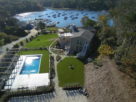 Orleans Cape Cod vacation rental - Aerial View of 36 Areys Pond