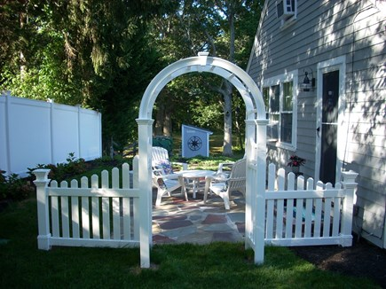 harwich Cape Cod vacation rental - Side Patio