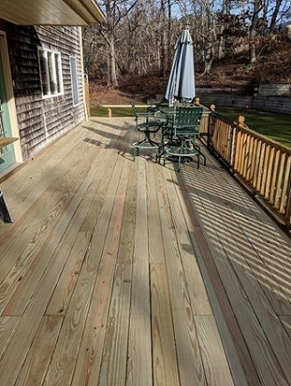 Dennis Cape Cod vacation rental - Back Deck will Have more outside furniture