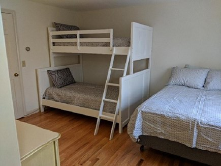 Dennis Cape Cod vacation rental - 2nd bedroom up with 2 doubles and 1 twin