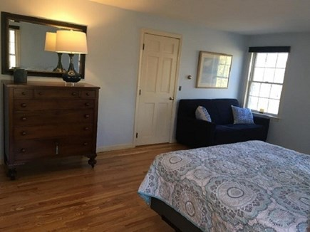 Dennis Cape Cod vacation rental - 1st floor bedroom with Queen bed and pullout couch