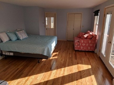 Dennis Cape Cod vacation rental - Master bedroom up with a king bed