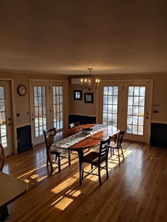 Dennis Cape Cod vacation rental - Dining room to be furnished & more pictures coming.