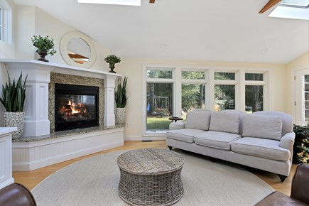 Marstons Mills, Near Osterville Marstons Mills vacation rental - Family room with half bath