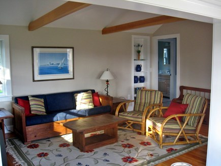 West Chatham Cape Cod vacation rental - Living Room 1
