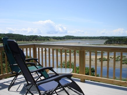 Wellfleet Cape Cod vacation rental - Upper deck off Main bedroom