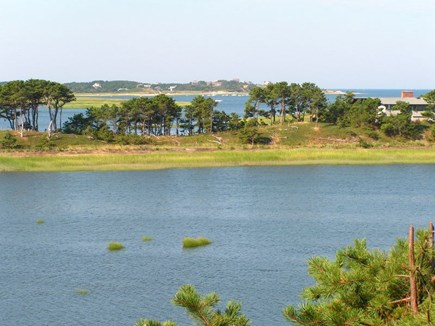 Wellfleet Cape Cod vacation rental - Looking out from decks