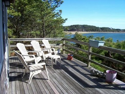 Wellfleet Cape Cod vacation rental - Deck outside the Living area