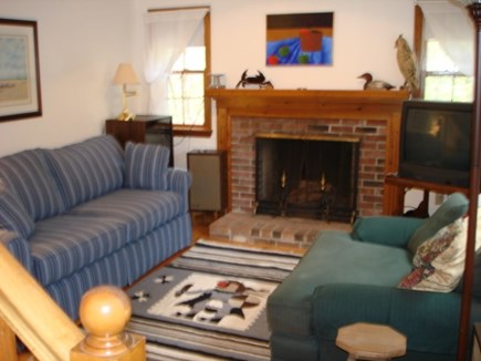 Wellfleet Cape Cod vacation rental - Direct entry into the Living room