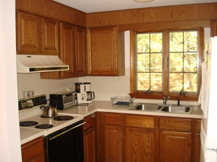 Wellfleet Cape Cod vacation rental - Kitchen open to dining room