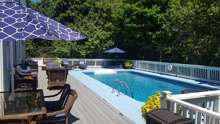 Dennis Village Cape Cod vacation rental - Morning at the Beach.. Afternoon at the Pool.. Perfect Day!