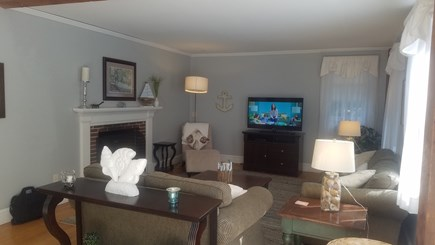 Dennis Village Cape Cod vacation rental - Spacious Living Room..