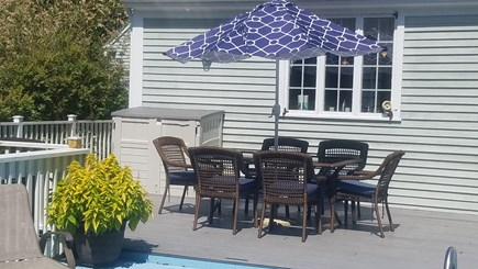Dennis Village Cape Cod vacation rental - Outdoor Dining..