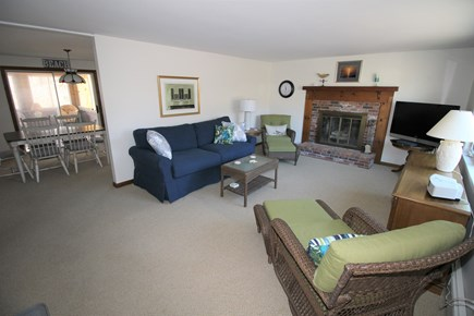 Dennis Cape Cod vacation rental - Lovely living room with television