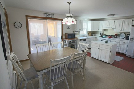 Dennis Cape Cod vacation rental - Dining room opens to kitchen & sun room