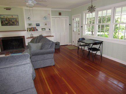 East Dennis Cape Cod vacation rental - Enter the great room from the farmer's porch